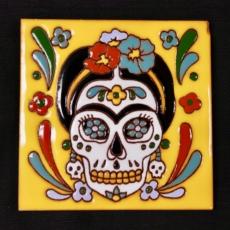 ART Catrina Frida Yellos